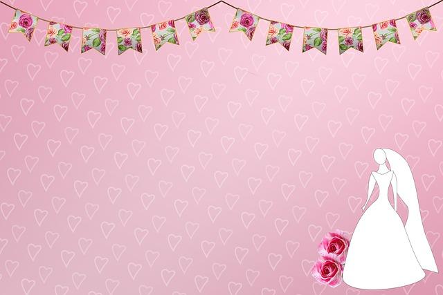 Bride Hearts Bunting Copy Space - flutie8211 / Pixabay