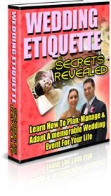 Wedding Etiquette Secrets